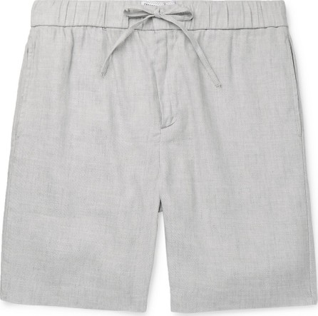 Frescobol Carioca Mélange Linen and Cotton-Blend Shorts