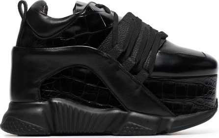 Marques'Almeida 80 Platform Leather Sneakers