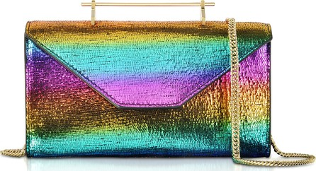 M2Malletier Metallic Rainbow Belt Bag