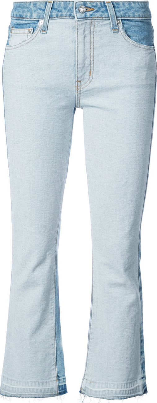 Derek Lam 10 Crosby - Gia cropped flared jeans