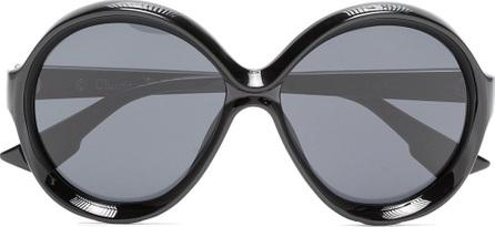 Dior Black Bianca round frame sunglasses
