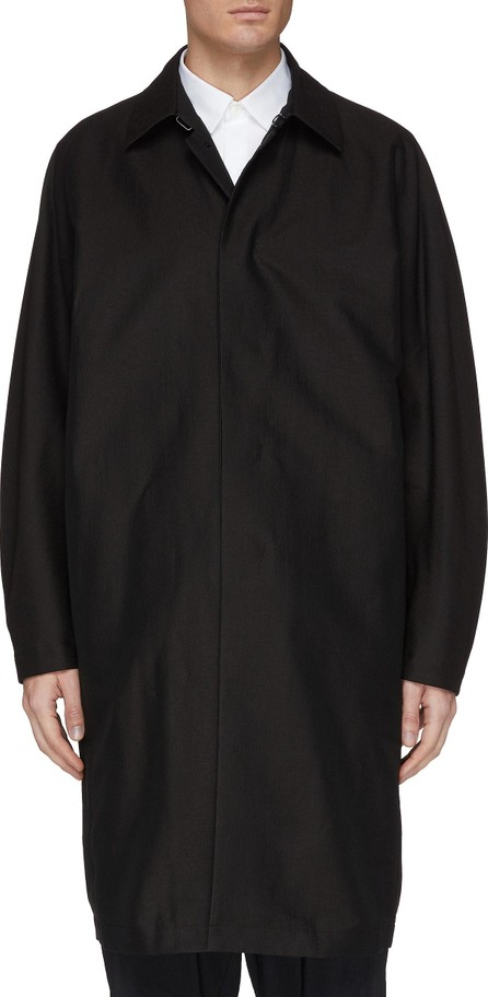 ATTACHMENT Concealed placket coat