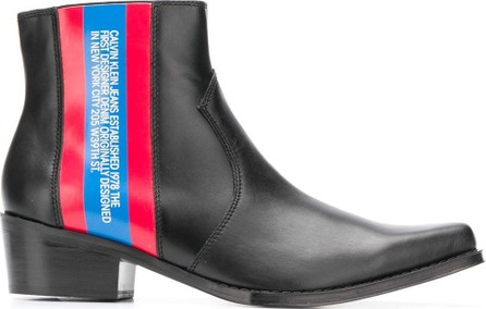 Calvin Klein Jeans Side striped boots