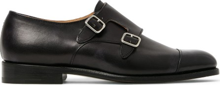 Tricker's Leavenworth Leather Monk-Strap Shoes