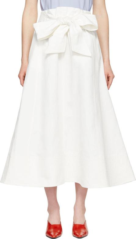Harmony Ecru Jade Bow Skirt