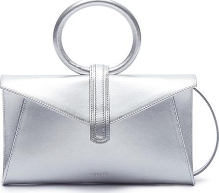 Complét 'Valery' mini metallic leather envelope clutch