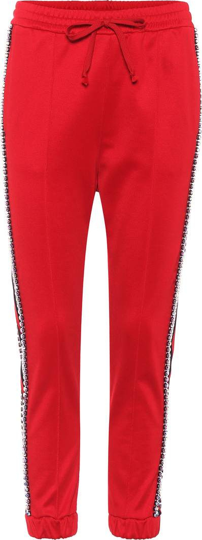 Gucci Technical jersey trackpants