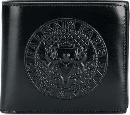 Balmain Logo crest wallet