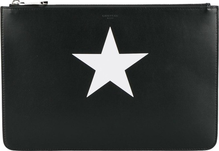 Givenchy star print pouch