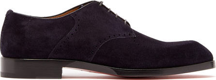 Christian Louboutin A Mon Homme suede derby shoes