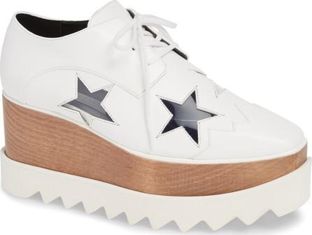 Stella McCartney Elyse Clear Star Platform Oxford