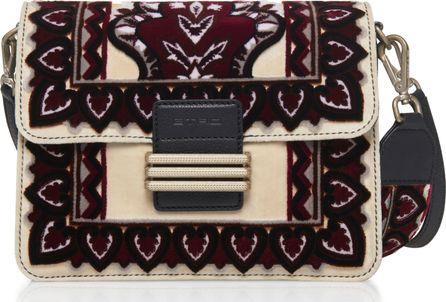 Etro Embroidered Shoulder Bag