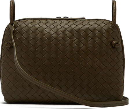 Bottega Veneta Nodini Intrecciato leather cross-body bag