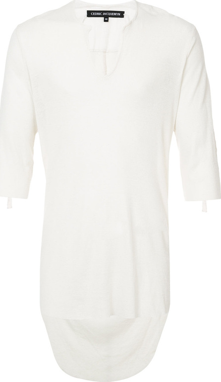 Cedric Jacquemyn V-neck fitted top