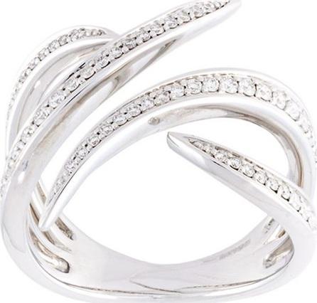 Gisele For Eshvi diamond fang ring