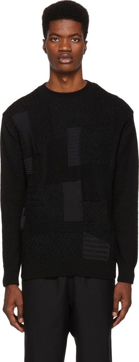 Comme des Garçons Homme Black Multifabric Sweater