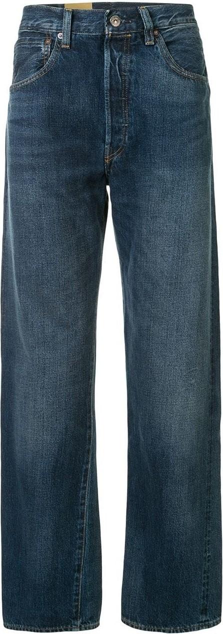 LEVI'S 501 mid-rise straight-leg jeans