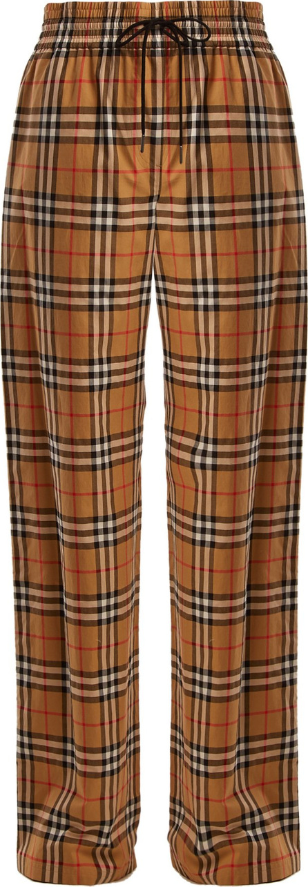 Burberry London England Whynam classic check drawstring trousers