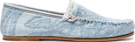 Acne Studios Jackson Denim Loafers