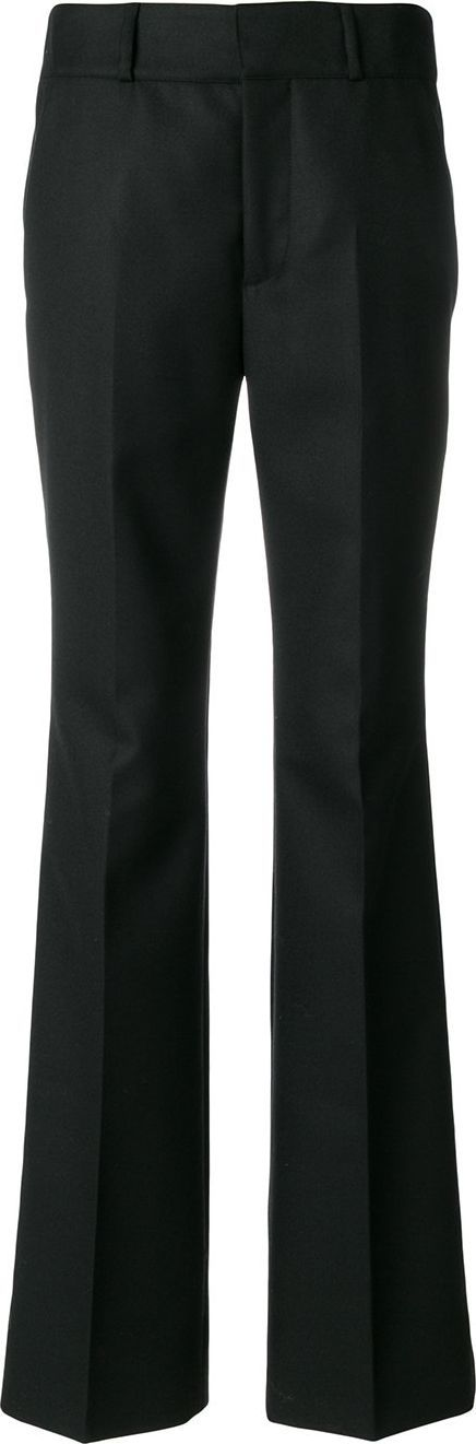 Marni flared tailored trousers