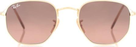 Ray Ban RB3548N Hexagonal Flat sunglasses