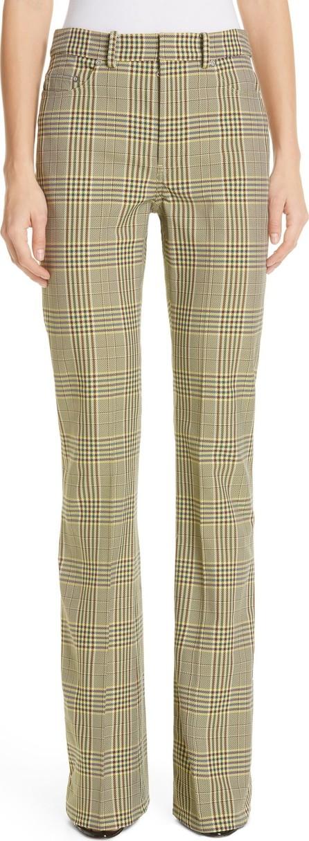 ADEAM Plaid Bootcut Pants