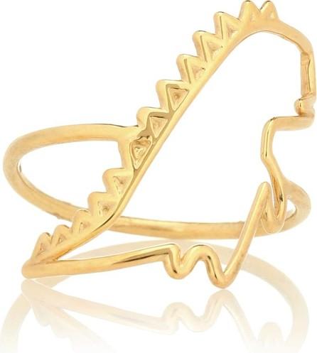 Aliita Dino Puro 9kt yellow gold ring