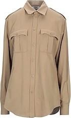 Celine Solid Color Shirts & Blouses