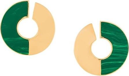 Eshvi disk earrings