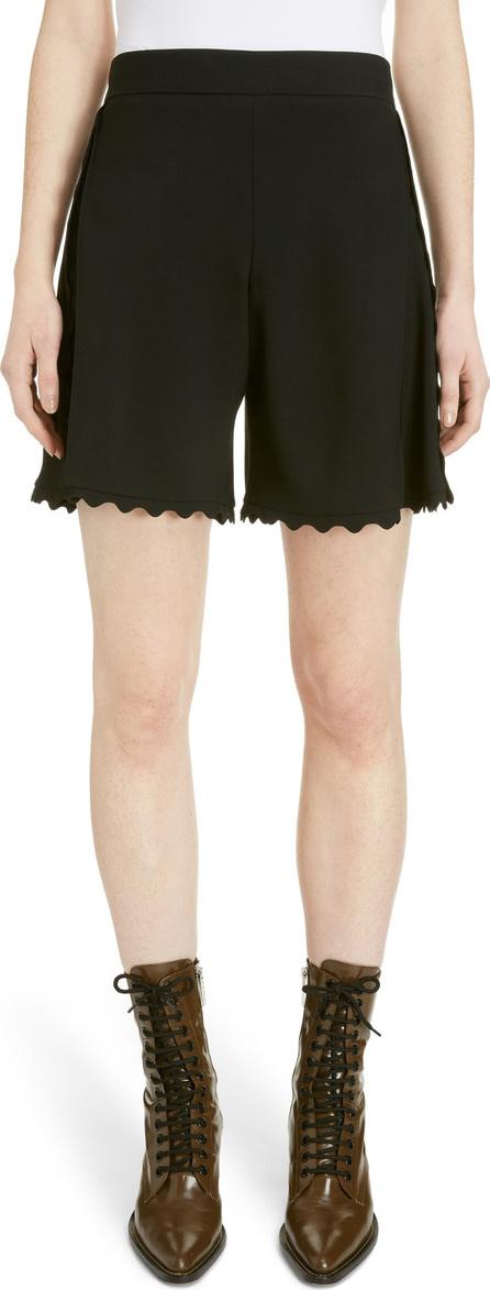 Chloe Scallop Trim Cady Shorts