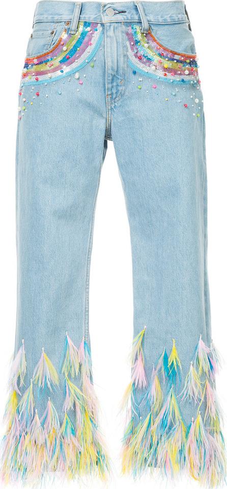Romance Was Born Rainbow visions jeans