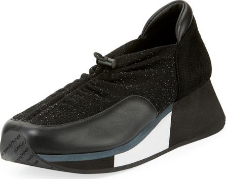 Donald J Pliner Prinze Pull-Tab Mixed Sneakers