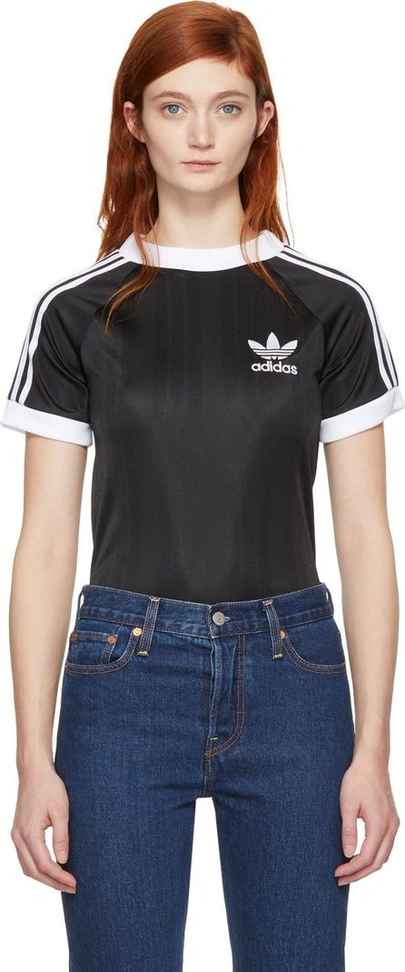 Adidas Originals Black Styling Complements Football T-Shirt