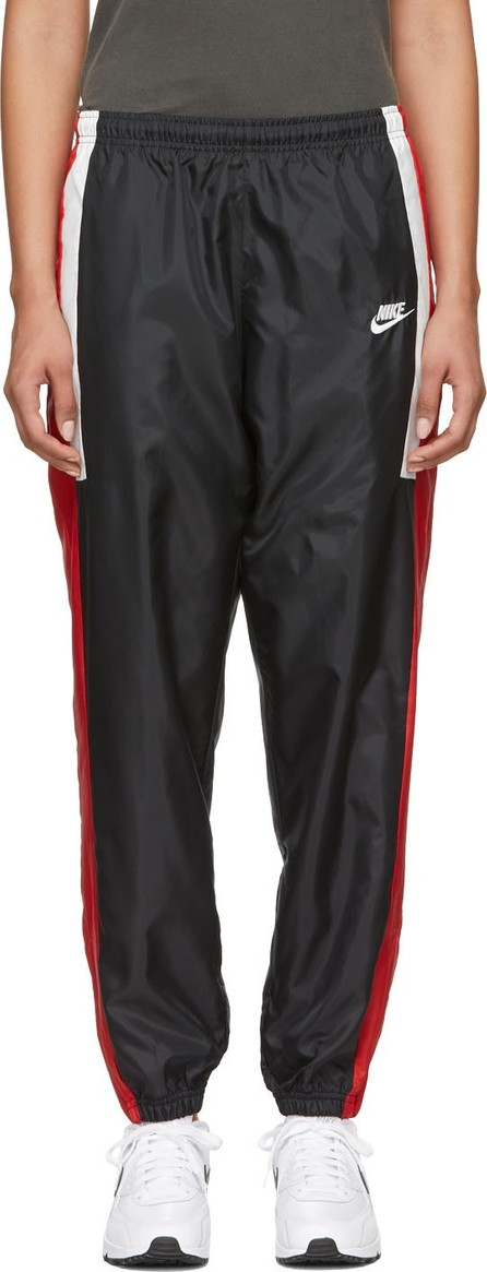 Nike Black & Red NSW Re-Issue Track Pants