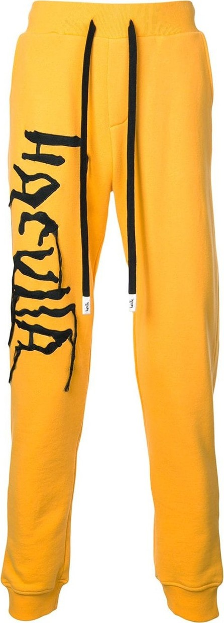 Haculla Logo embroidered track trousers