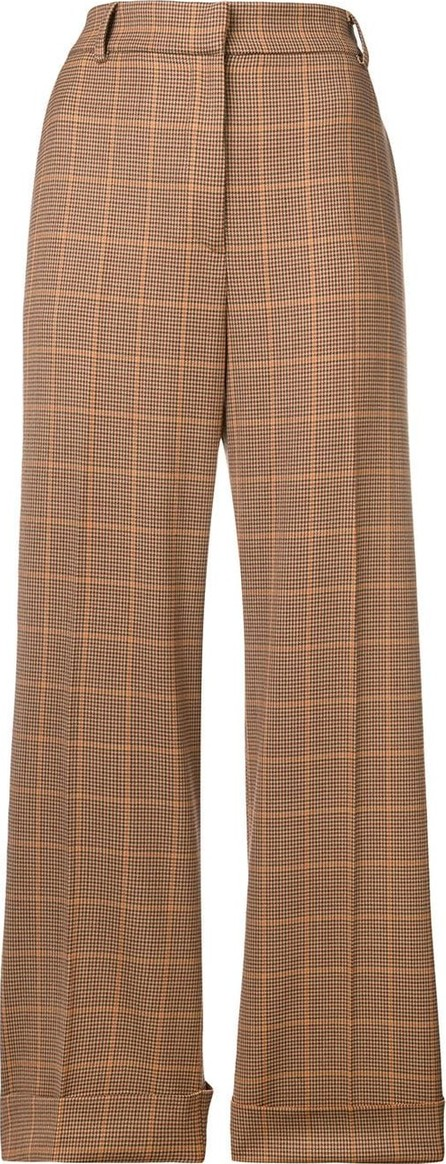 Antonelli Cropped straight leg trousers