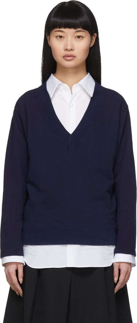 Blue Blue Japan Indigo V-Neck Pullover