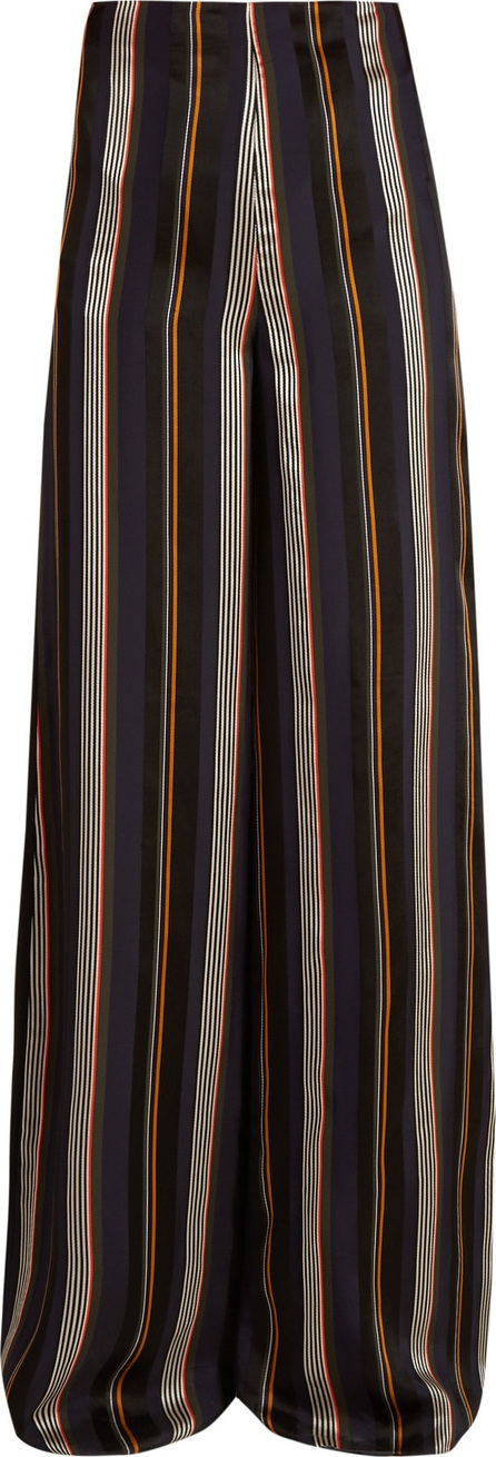 Roksanda Arneau striped satin trousers