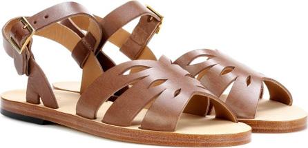 A.P.C. Lilia leather sandals