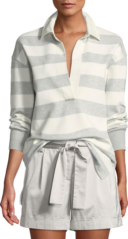 Lafayette 148 New York - Antonia Laszlo Stripe Rugby Shirt
