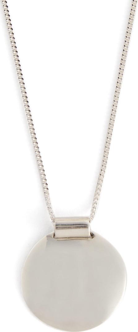 Fay Andrada Pallo silver pendant necklace