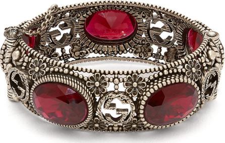 Gucci Crystal-embellished bangle