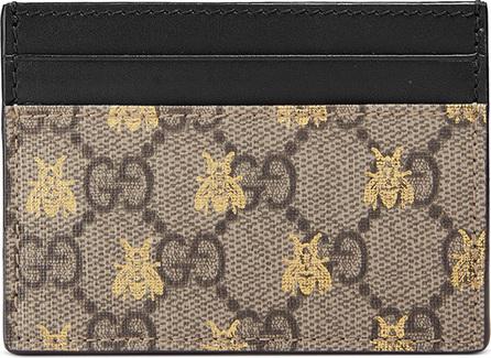 Gucci Linea A GG Supreme Card Case