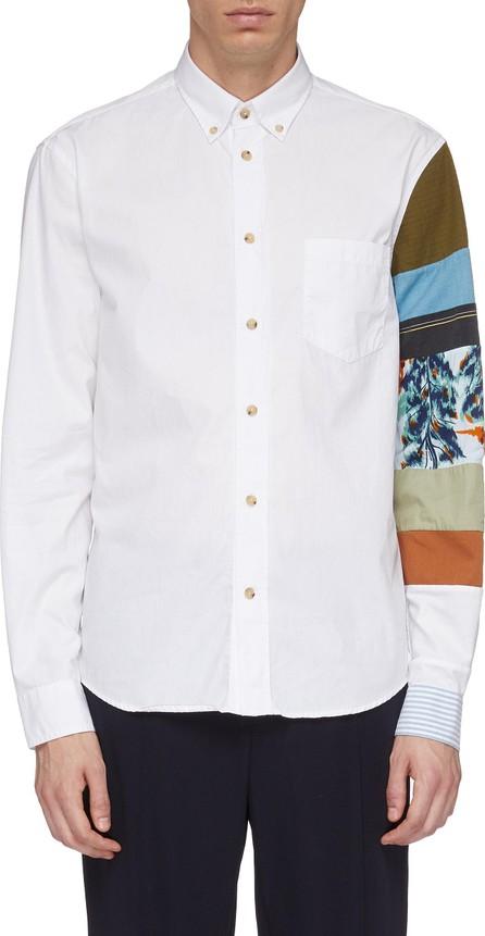 Acne Studios Patchwork sleeve shirt