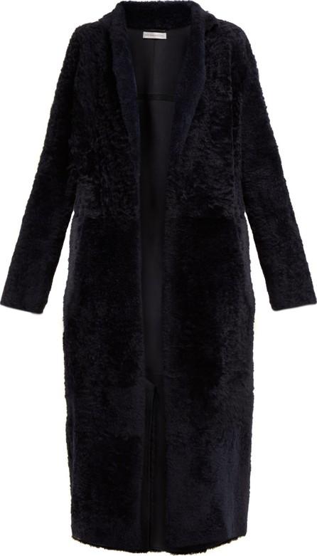 Inès & Maréchal Equilibre notchel-lapel shearling coat