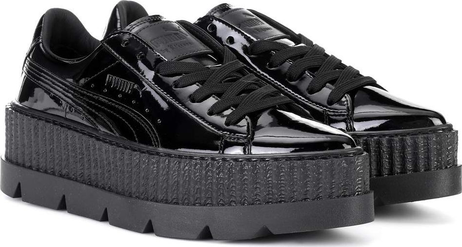 watch 717d8 b1767 Pointed Creeper patent leather sneakers
