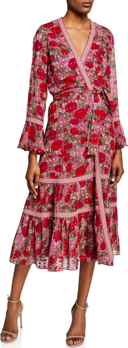 Alexis Marcas Floral-Print Wrap Dress