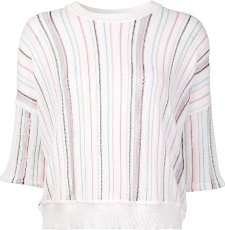 Adam Lippes cropped short sleeve jumper