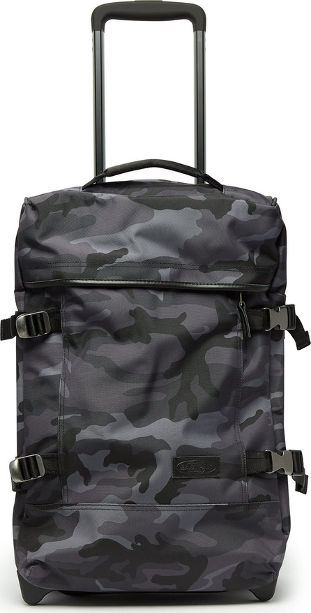 Eastpak Tranverz small camouflage-print suitcase