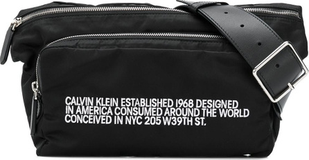 Calvin Klein 205W39NYC Logo zipped belt bag